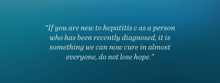 Recently Diagnosed with Hepatitis C