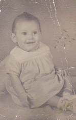 A picture of the author as a child.
